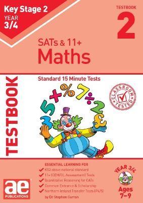 KS2 Maths Year 3/4 Testbook 2 - pr_237554