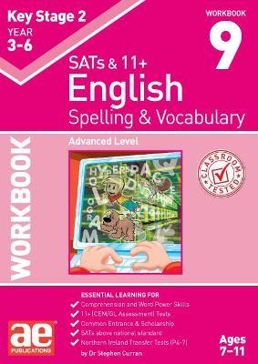 KS2 Spelling & Vocabulary Workbook 9 - pr_237559