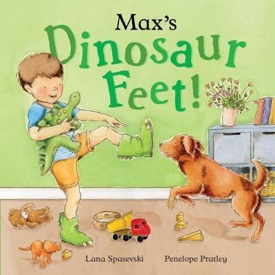 Max's Dinosaur Feet -