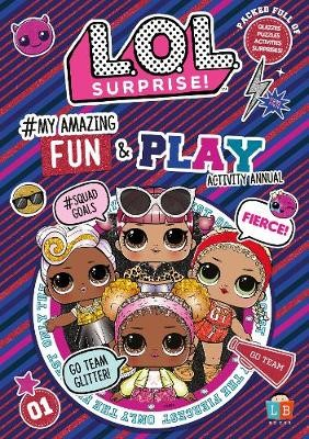L.O.L. Surprise! #My Amazing Fun and Play Activity Annual - pr_209670