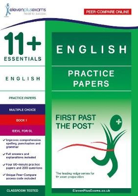 11+ Essentials English Practice Papers Book 1 -
