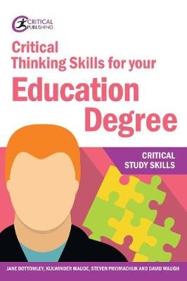 Critical Thinking Skills for your Education Degree - pr_99678