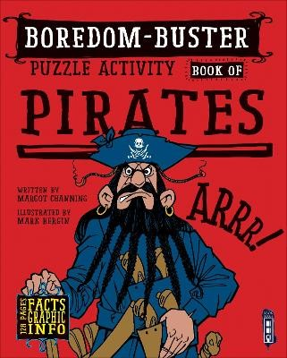 Boredom Buster Puzzle Activity Book of Pirates -