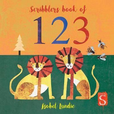 Scribblers Book of 123 -