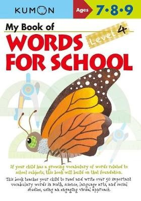 My Book of Words for School: Level 4 -