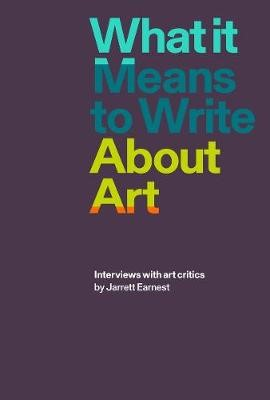What it Means to Write About Art - pr_59313
