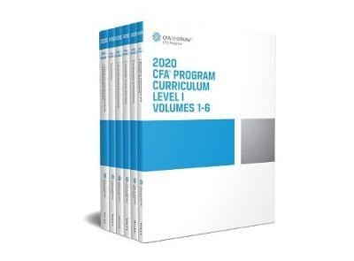 CFA Program Curriculum 2020 Level I Volumes 1-6 Box Set -