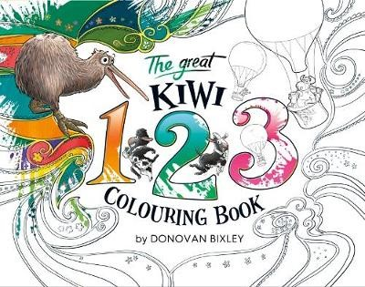The Great Kiwi 123 Colouring Book - pr_259071