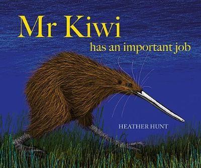 Mr Kiwi HAs An Important Job -