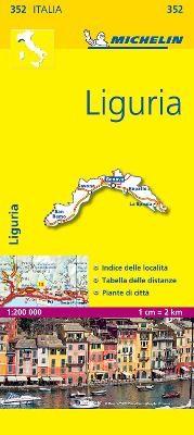 Liguria - Michelin Local Map 352 - pr_16142