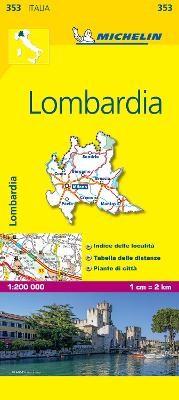 Lombardia - Michelin Local Map 353 - pr_16209