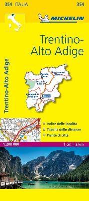 Trentino - Michelin Local Map 354 - pr_16173