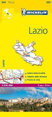 Lazio - Michelin Local Map 360 - pr_16261