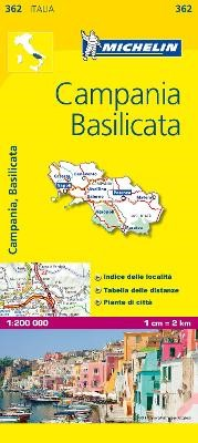 Campania - Michelin Local Map 362 - pr_16056