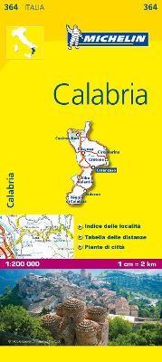 Calabria - Michelin Local Map 364 - pr_16263