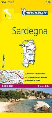 Sardinia - Michelin Local Map 366 - pr_37508
