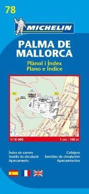 Palma de Mallorca - Michelin City Plan 78 - pr_16139