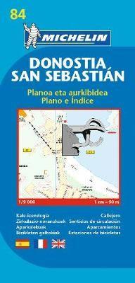 San Sebastian - Michelin City Plan 84 - pr_16109
