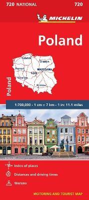 Poland - Michelin National Map 720 - pr_215101