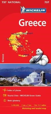 Greece - Michelin National Map 737 - pr_237876