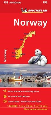 Norway - Michelin National Map 752 - pr_237866