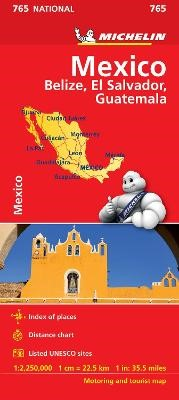 Mexico - Michelin National Map 765 - pr_237887