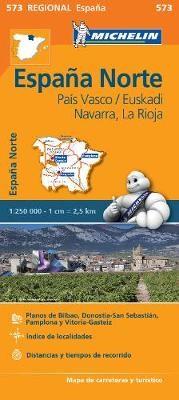 Pais Vasco, Navarra, La Rioja - Michelin Regional Map 573 - pr_215097
