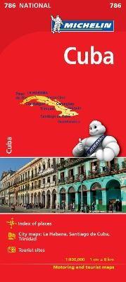 Cuba  - Michelin National Map 786 - pr_16172