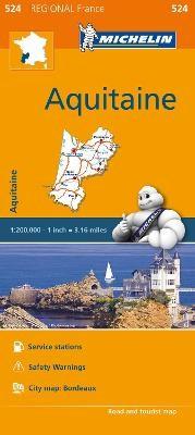 Aquitaine - Michelin Regional Map 524 - pr_16171