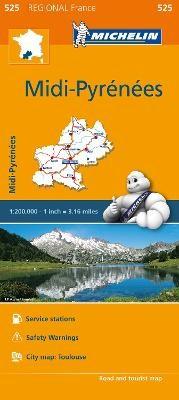 Midi-Pyrenees - Michelin Regional Map 525 - pr_16110