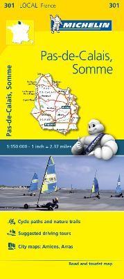 Pas-de-Calais, Somme - Michelin Local Map 301 - pr_215061
