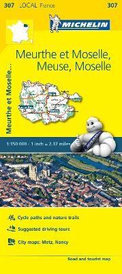 Meuse, Meurthe-et-Moselle, Moselle, - Michelin Local Map 307 - pr_20649