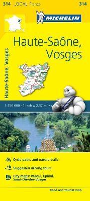 Haute-Saone, Vosges - Michelin Local Map 314 - pr_16138