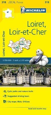 Loiret, Loir-et-Cher - Michelin Local Map 318 - pr_16087