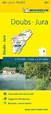 Doubs, Jura - Michelin Local Map 321 - pr_16236