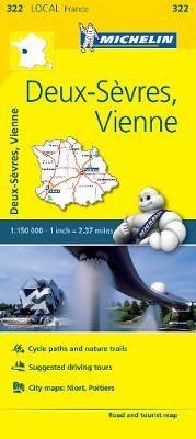 Deux-Sevres, Vienne - Michelin Local Map 322 - pr_16235
