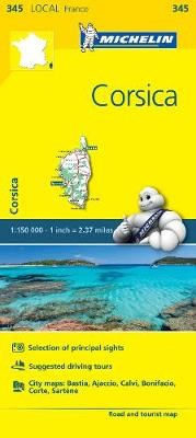 Corse-du-Sud, Haute-Corse - Michelin Local Map 345 - pr_16204