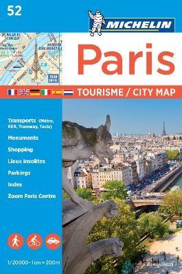 Paris - Michelin City Plan 52 - pr_58626