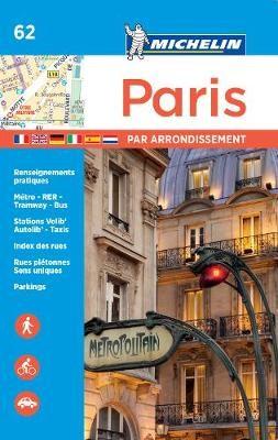 Paris par arrondissement - Michelin City Plan 062 - pr_246599
