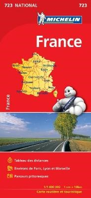 France (booklet format) - Michelin National Map 723 - pr_237863