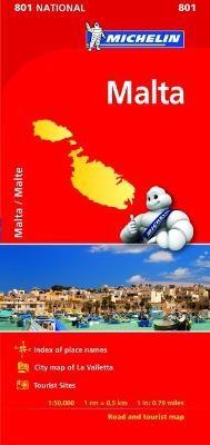 Malta - Michelin National Map 801 - pr_17118