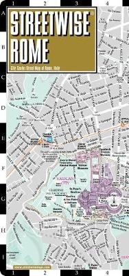 Streetwise Rome Map - Laminated City Center Street Map of Rome, Italy -