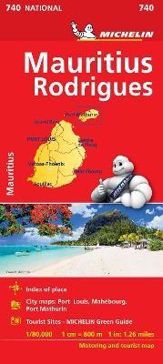 Maurice (Mauritius) - Michelin National Map 740 - pr_237874