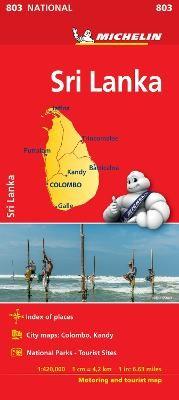 Sri Lanka National Map 803 - pr_30864