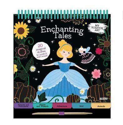 My Scratch Art: Enchanting Tales -