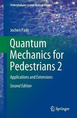 Quantum Mechanics for Pedestrians 2 - pr_36325