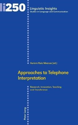 Approaches to Telephone Interpretation - pr_262006