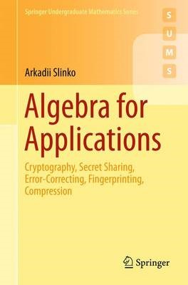 Algebra for Applications - pr_262036