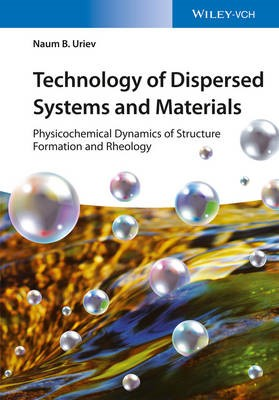 Technology of Dispersed Systems and Materials - pr_343674