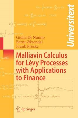 Malliavin Calculus for Levy Processes with Applications to Finance - pr_18635
